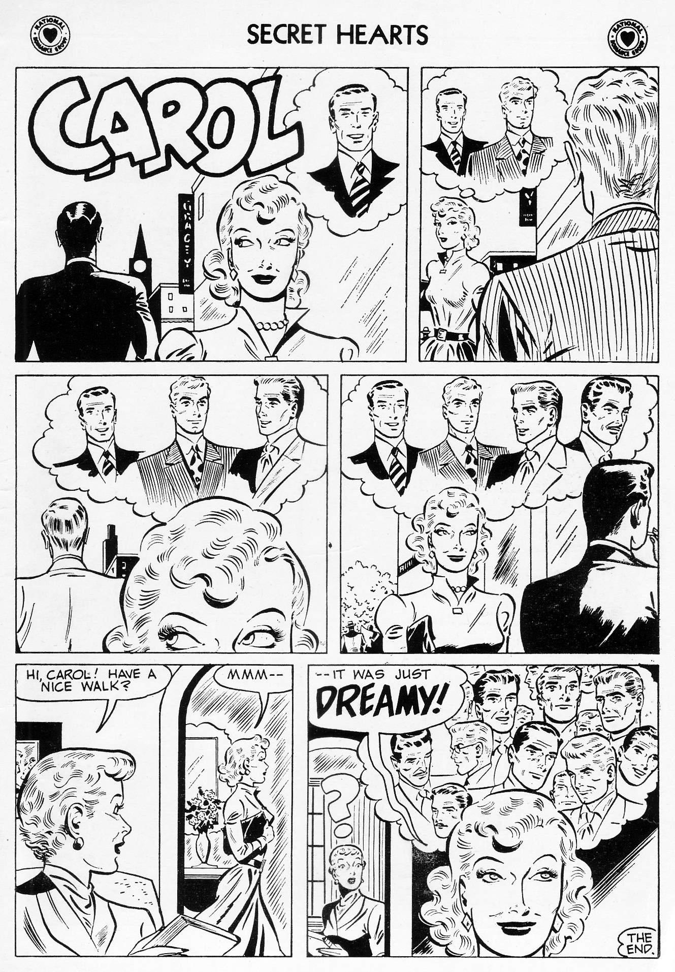 Read online Secret Hearts comic -  Issue #46 - 35