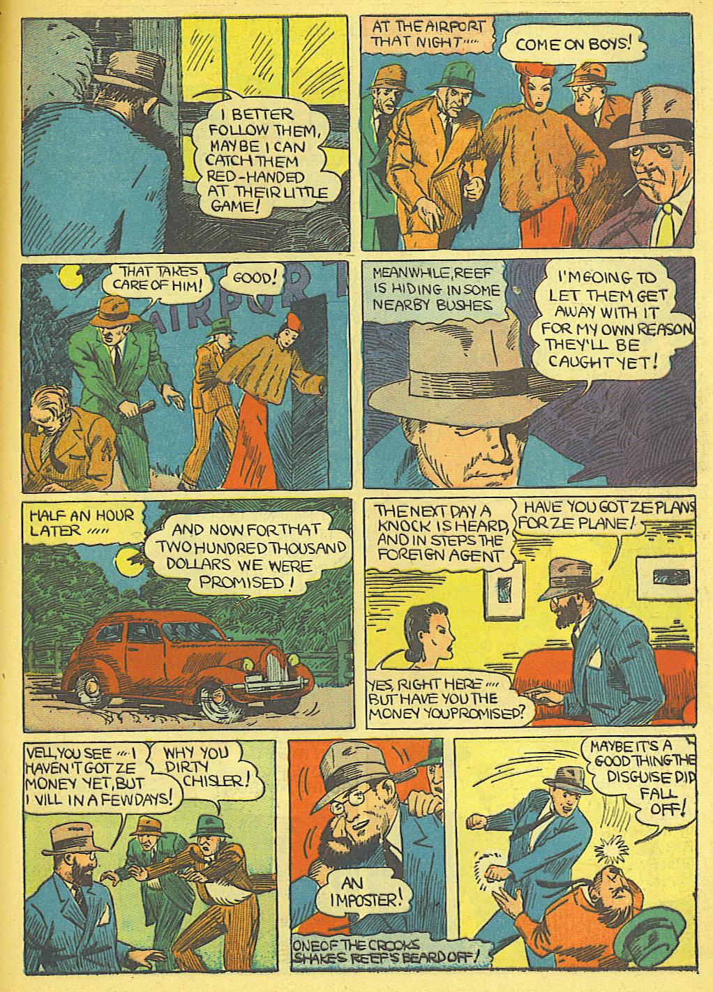 Read online Amazing Man Comics comic -  Issue #19 - 57