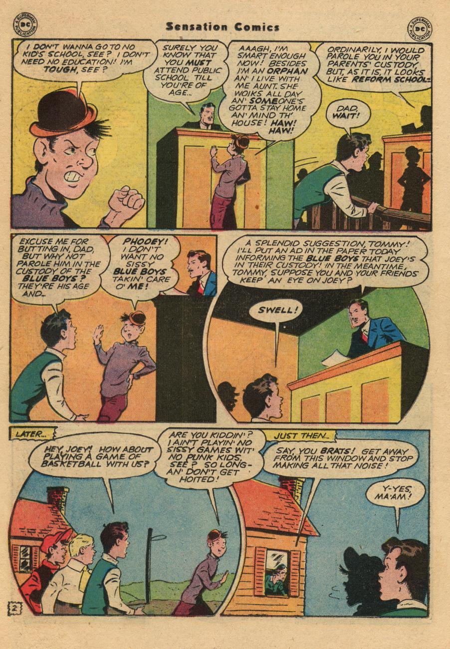 Read online Sensation (Mystery) Comics comic -  Issue #61 - 18