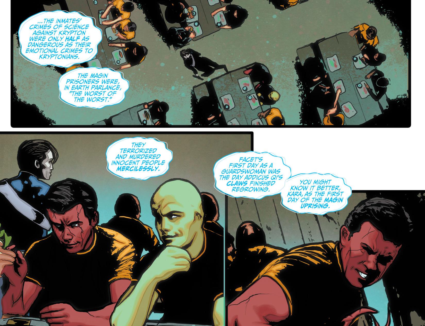 Read online Adventures of Supergirl comic -  Issue #10 - 11