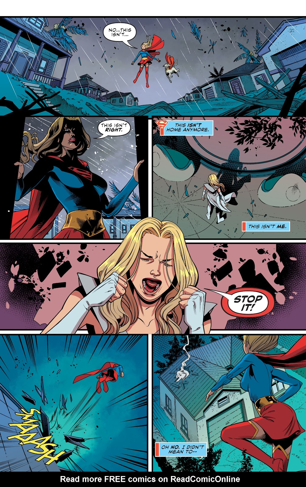 Read online Supergirl (2016) comic -  Issue #41 - 11