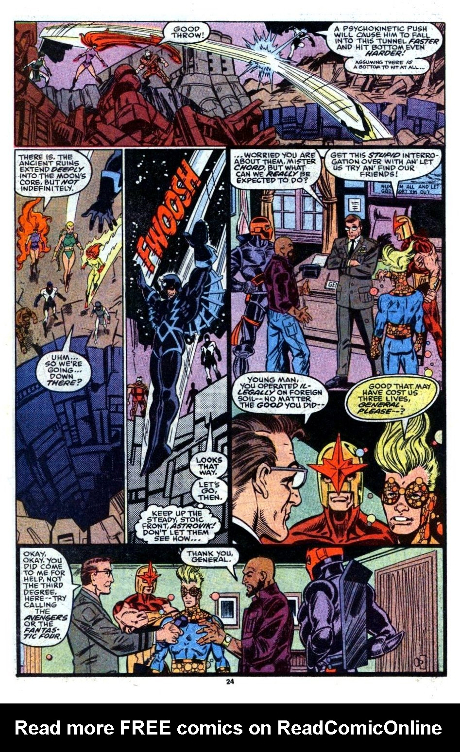 The New Warriors Issue #6 #10 - English 18
