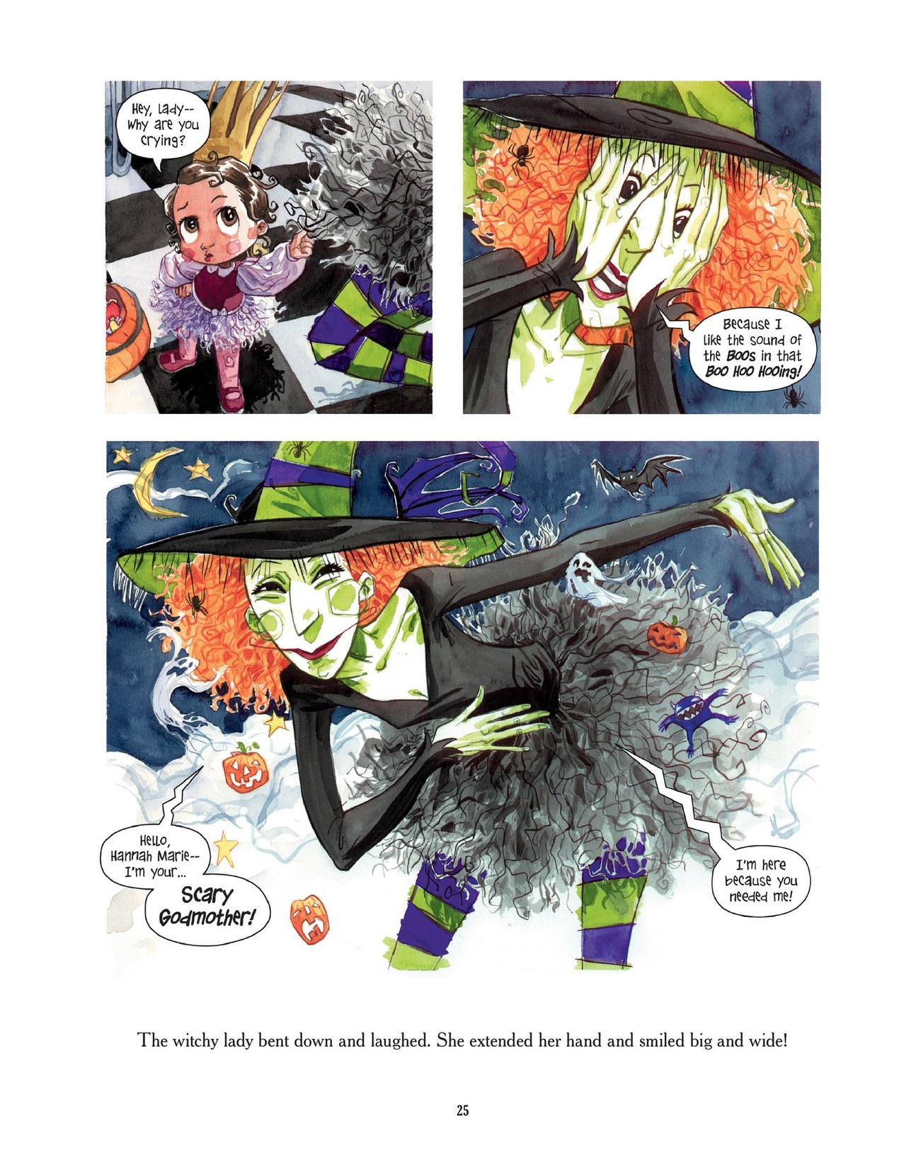 Read online Scary Godmother comic -  Issue # TPB - 25