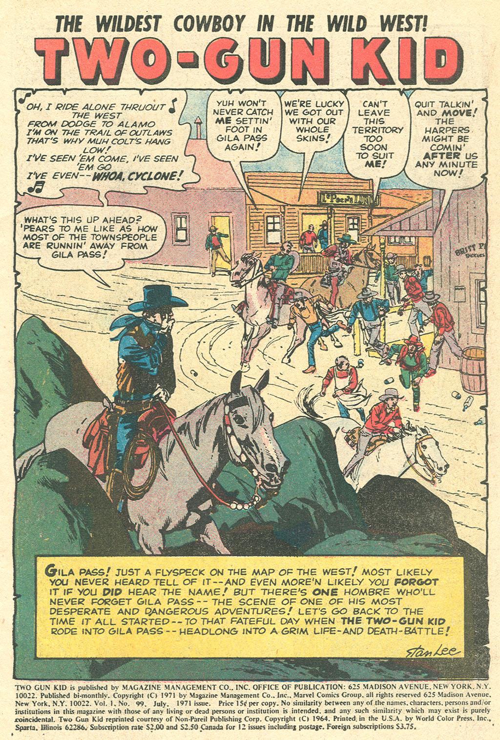Read online Two-Gun Kid comic -  Issue #99 - 3