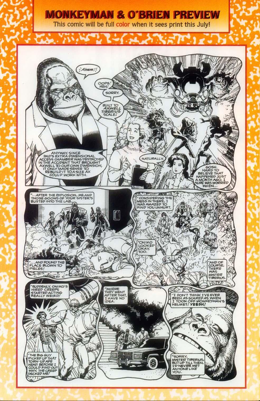 Godzilla (1995) Issue #12 #13 - English 32