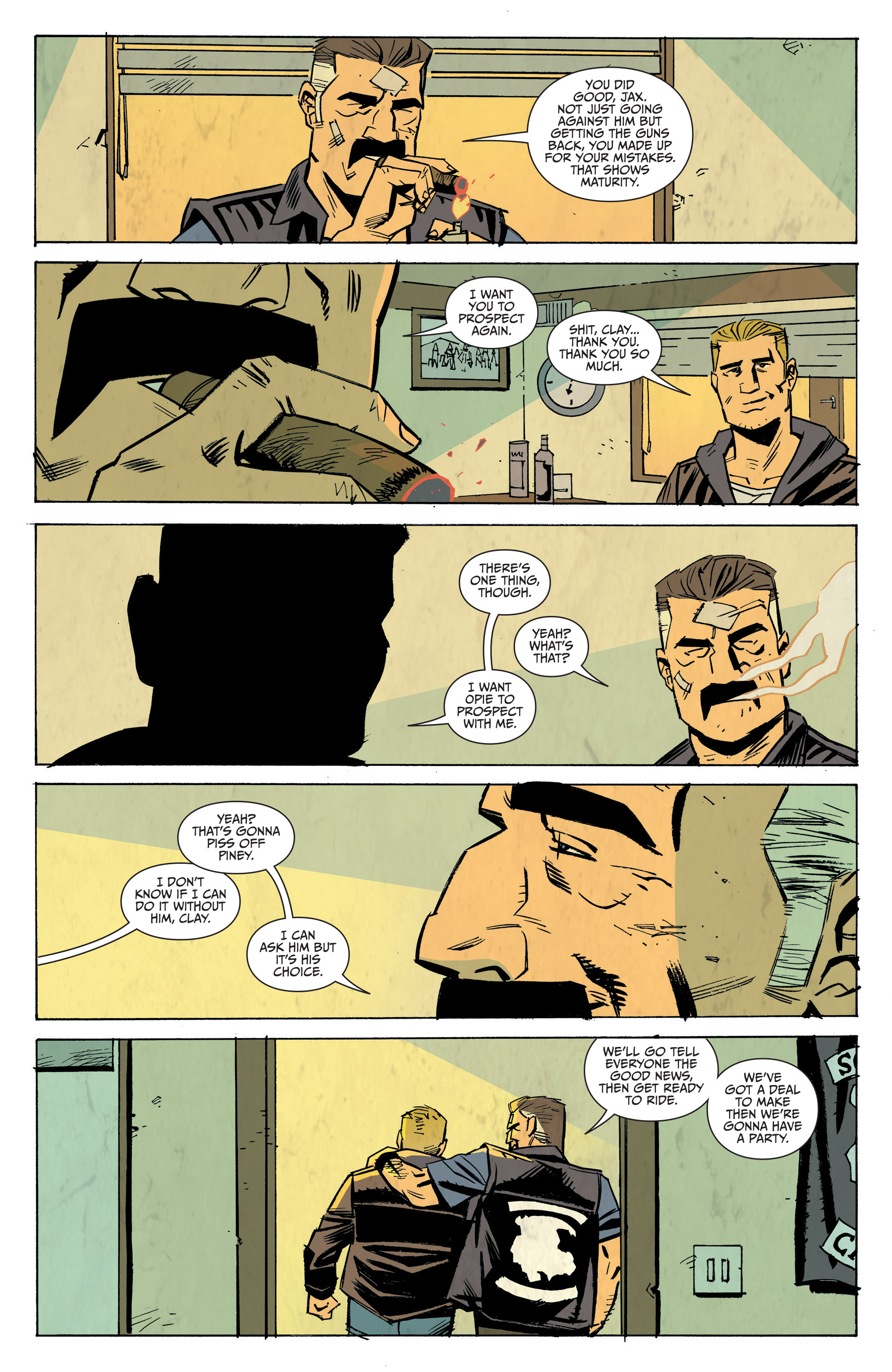 Read online Sons of Anarchy: Redwood Original comic -  Issue #8 - 17
