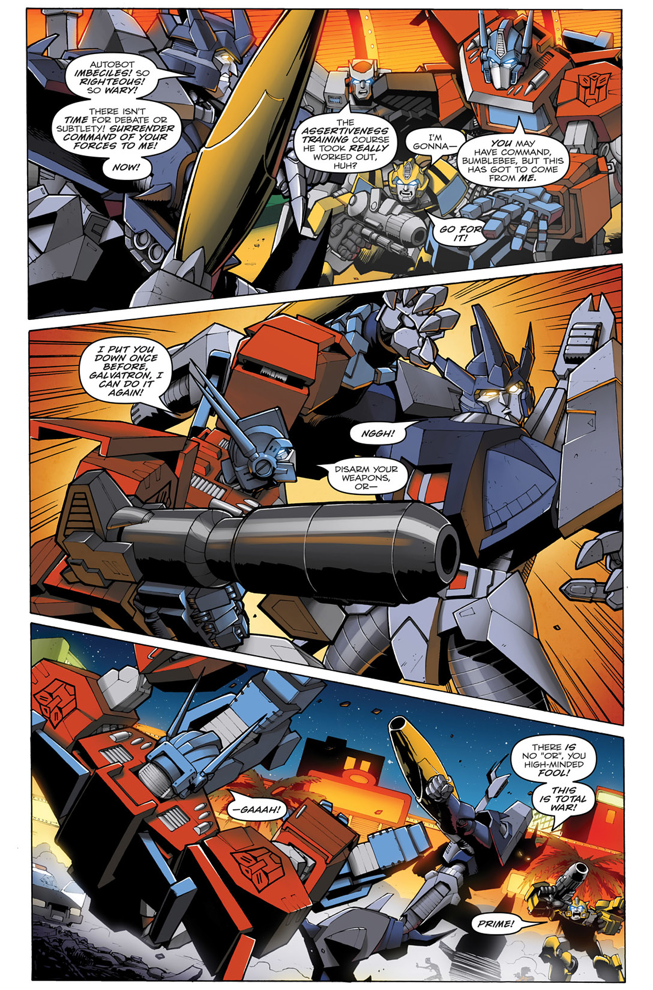 Read online Transformers: Infestation comic -  Issue #1 - 11