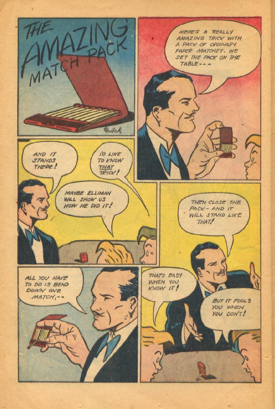 Read online Super-Magician Comics comic -  Issue #52 - 21