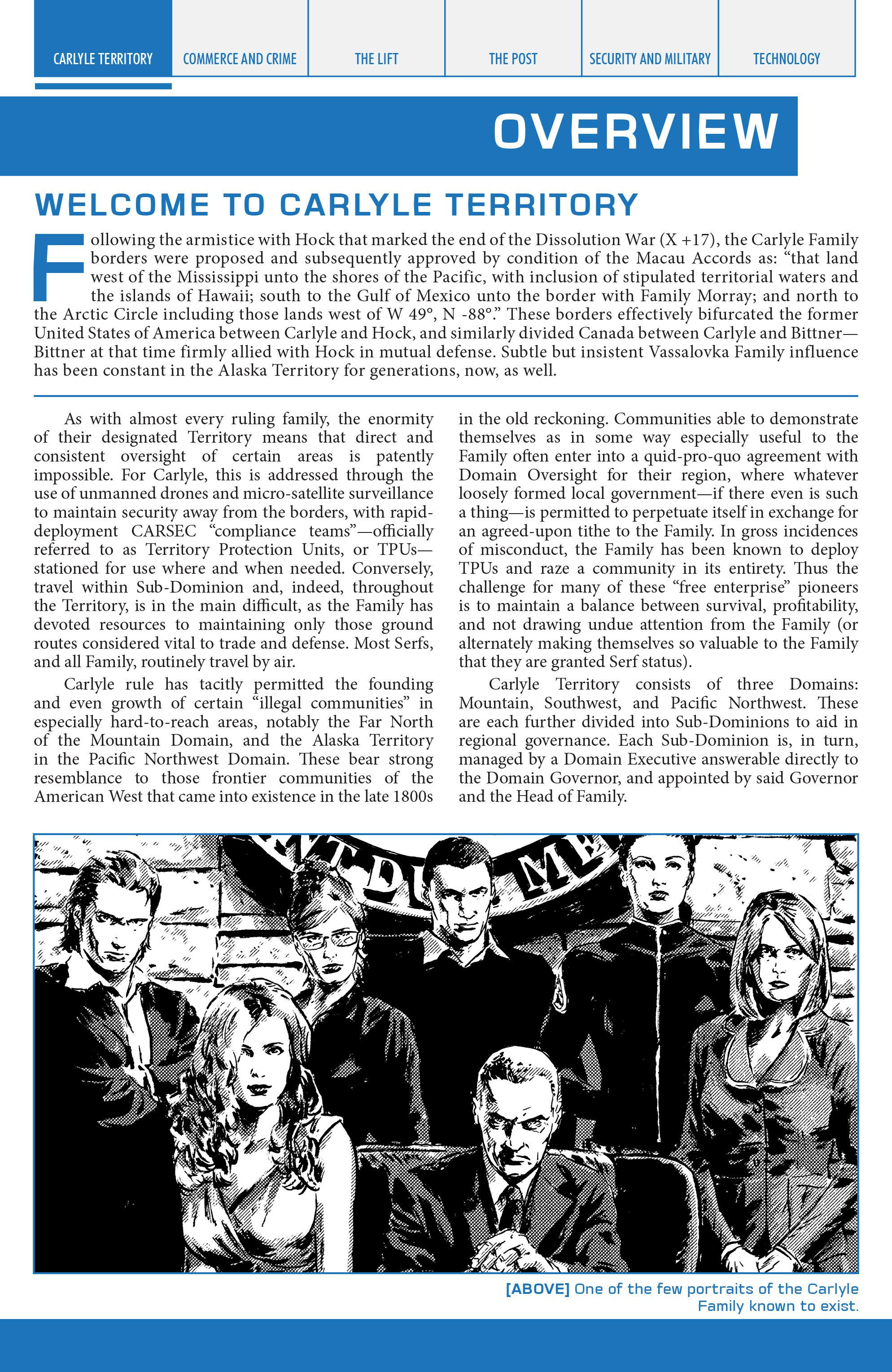 Read online Lazarus Sourcebook comic -  Issue # Vol. 1 - 3