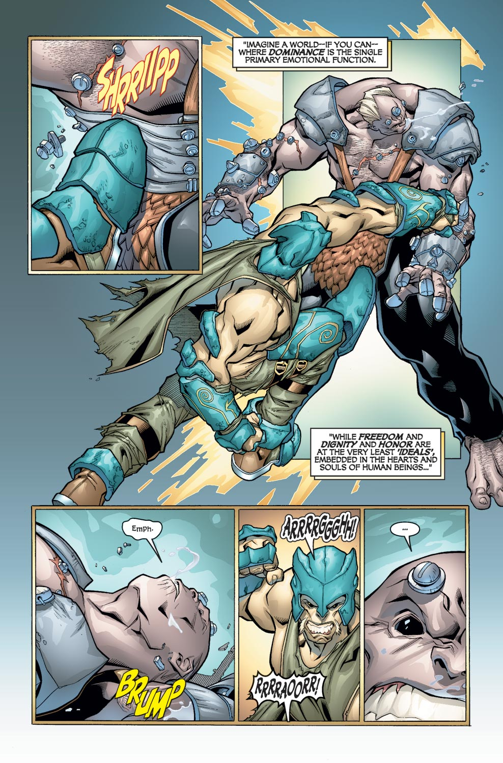 Alpha Flight (2004) issue 3 - Page 4