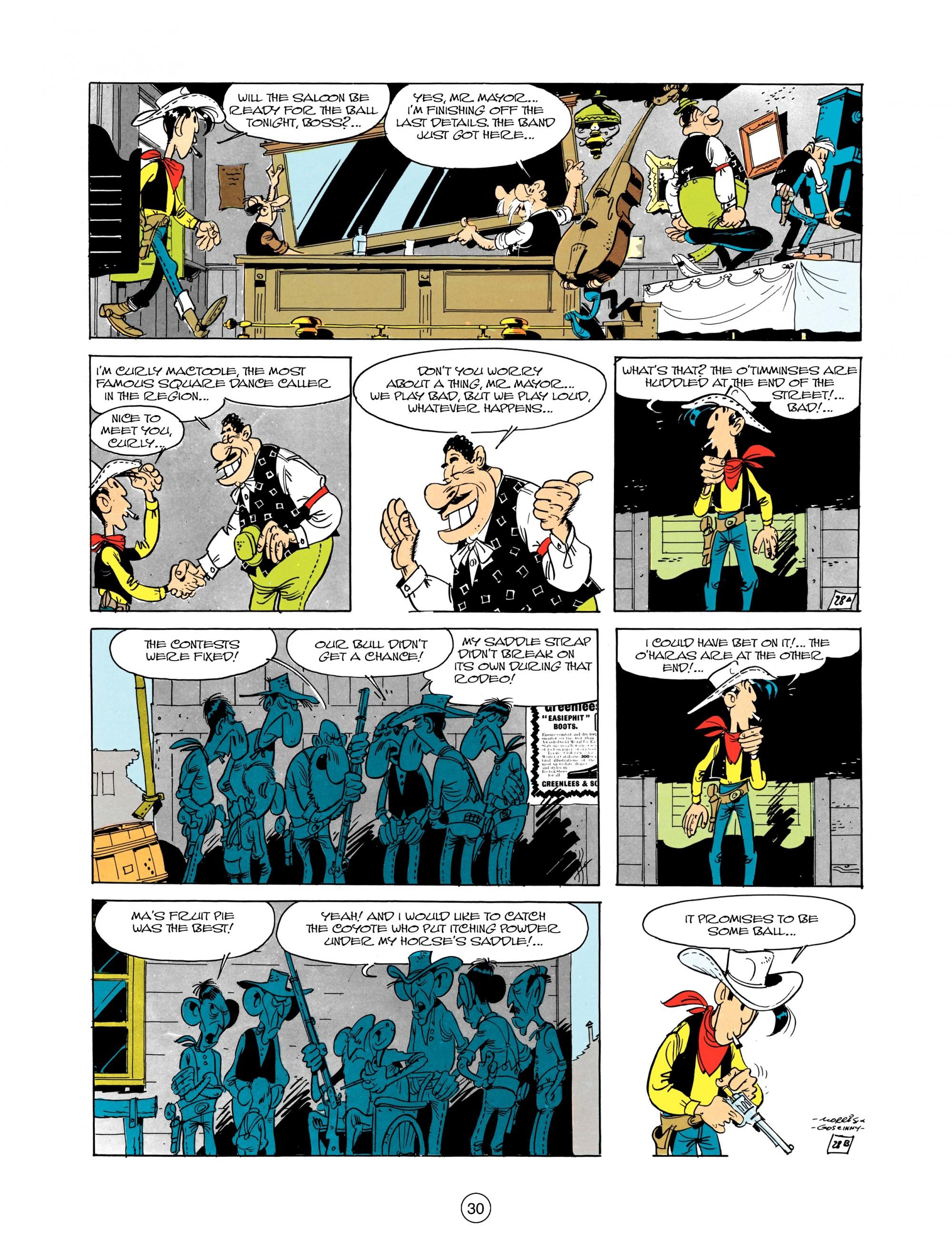 Read online A Lucky Luke Adventure comic -  Issue #12 - 30