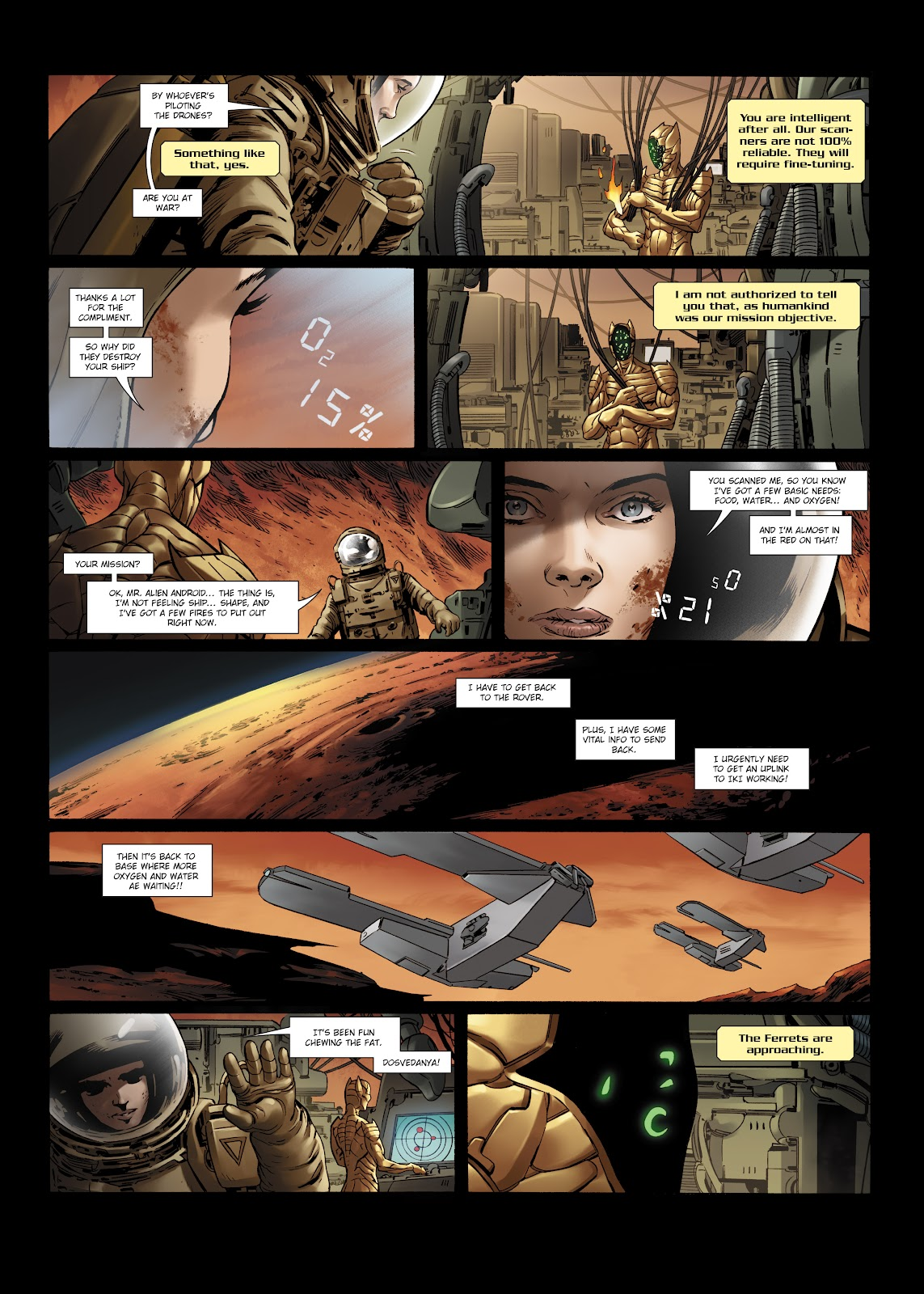 Read online Olympus Mons Vol. 1: Anomaly One comic -  Issue #5 - 15