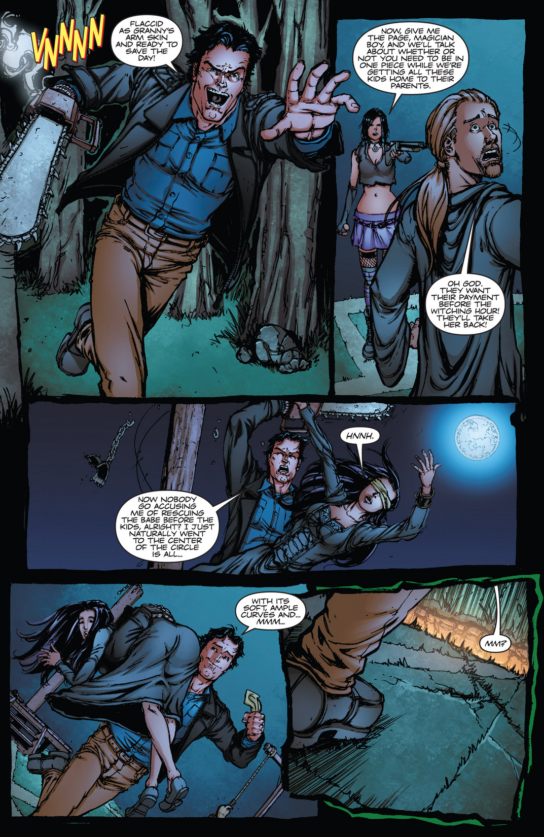 Read online Army of Darkness vs. Hack/Slash comic -  Issue #4 - 16