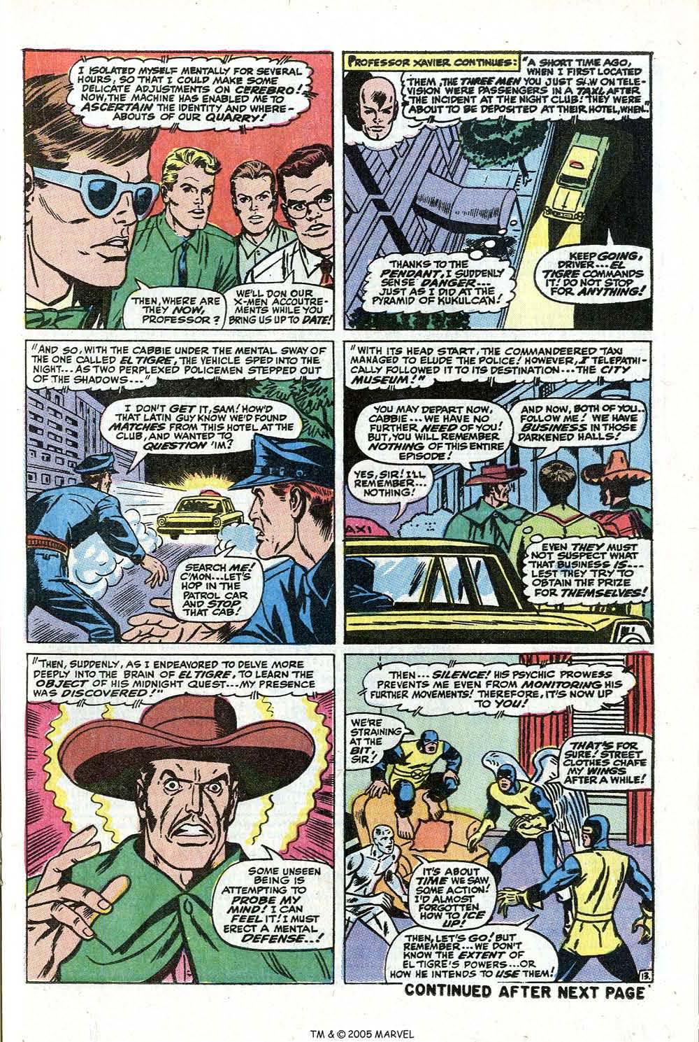 Read online Uncanny X-Men (1963) comic -  Issue #73 - 21