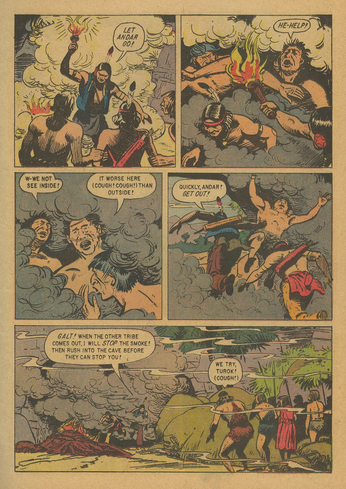 Read online Turok, Son of Stone comic -  Issue #20 - 13