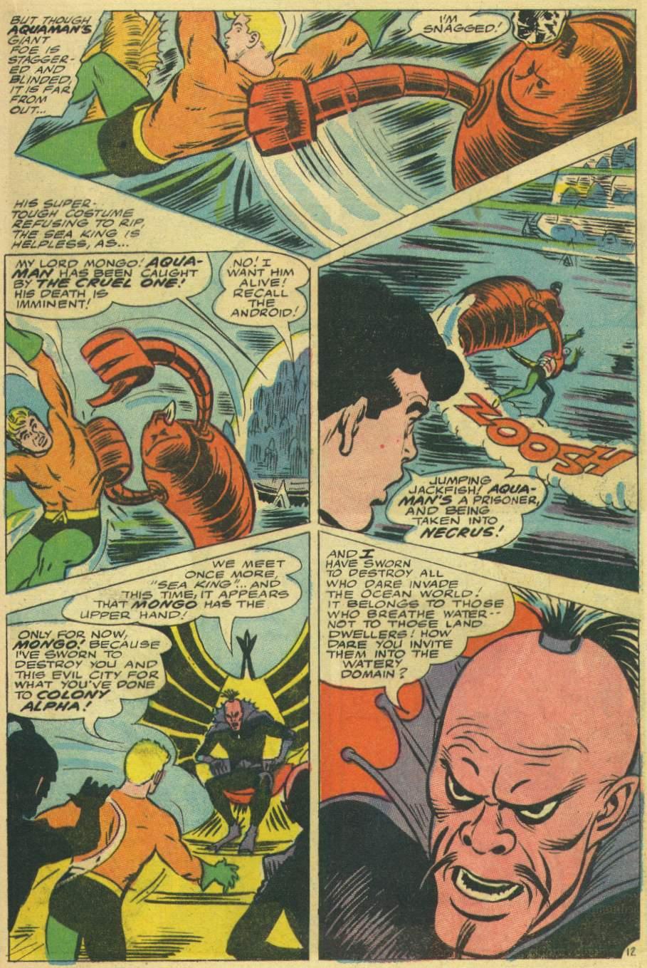 Read online Aquaman (1962) comic -  Issue #30 - 17
