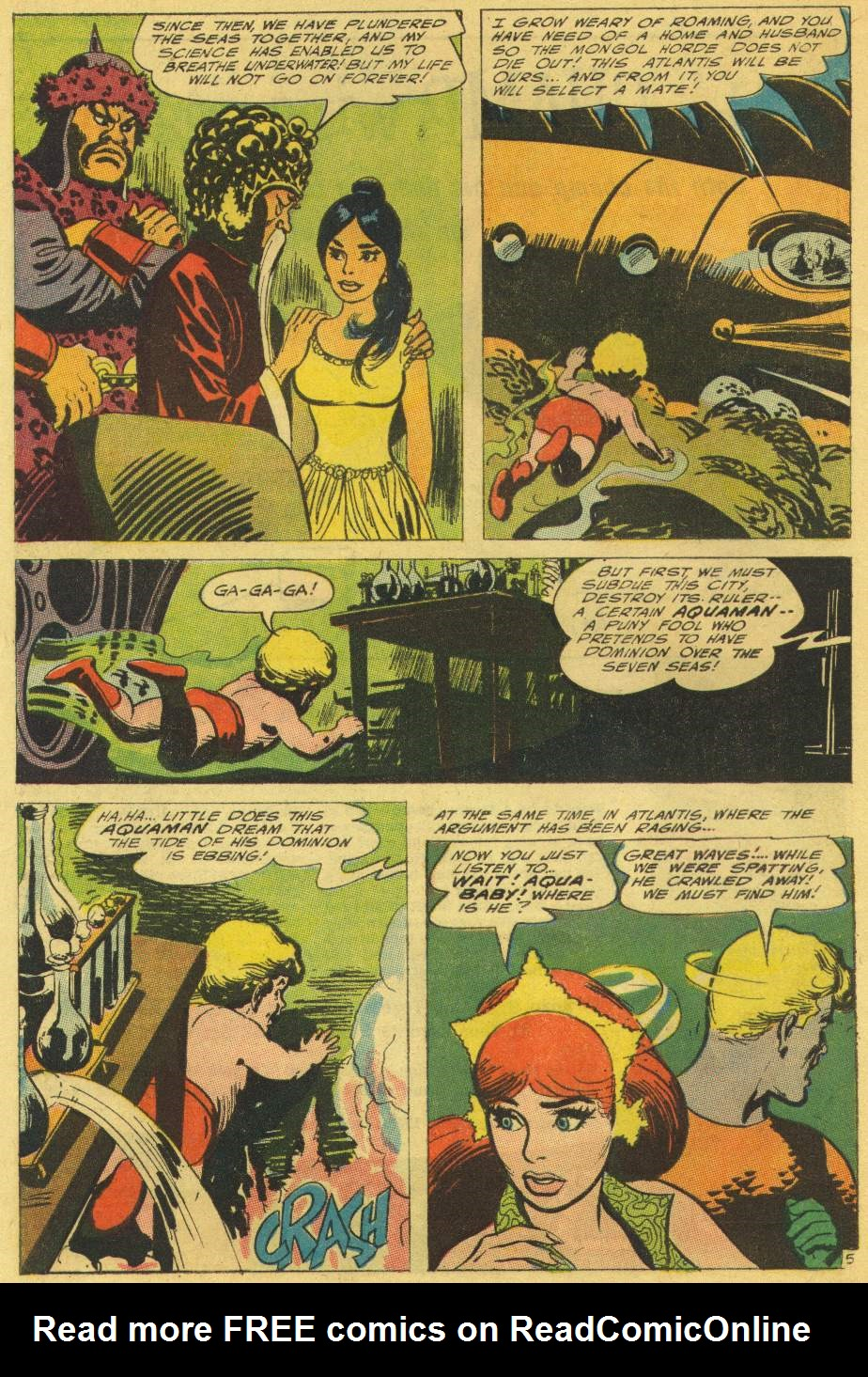 Read online Aquaman (1962) comic -  Issue #25 - 8