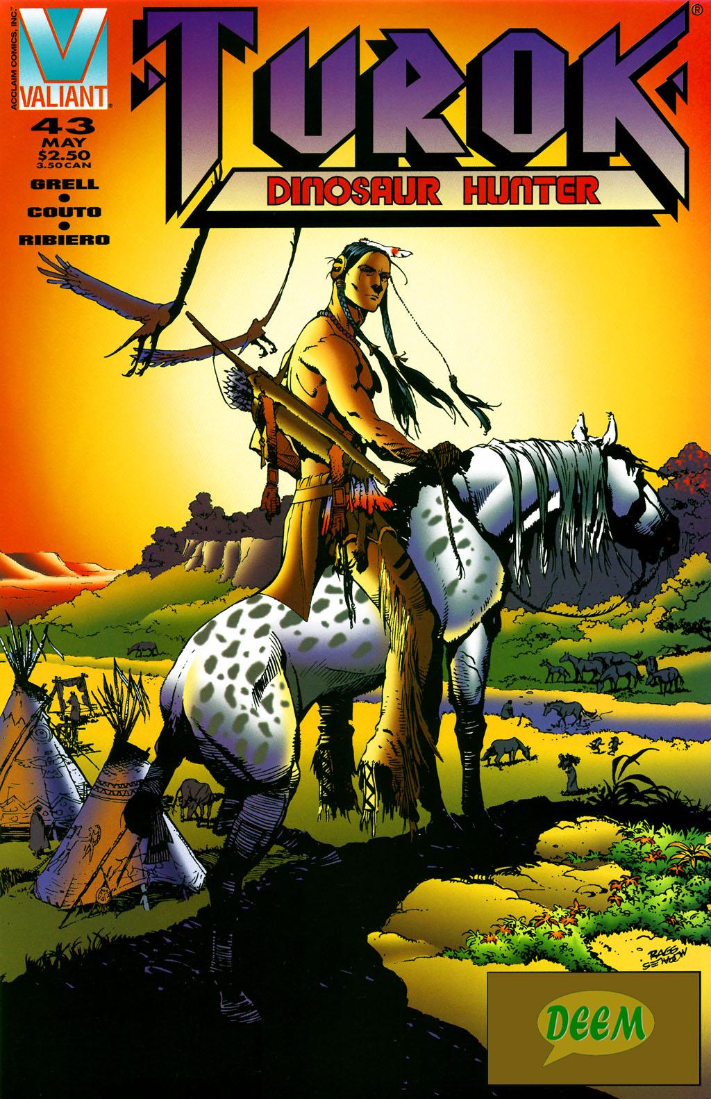 Read online Turok, Dinosaur Hunter (1993) comic -  Issue #43 - 1