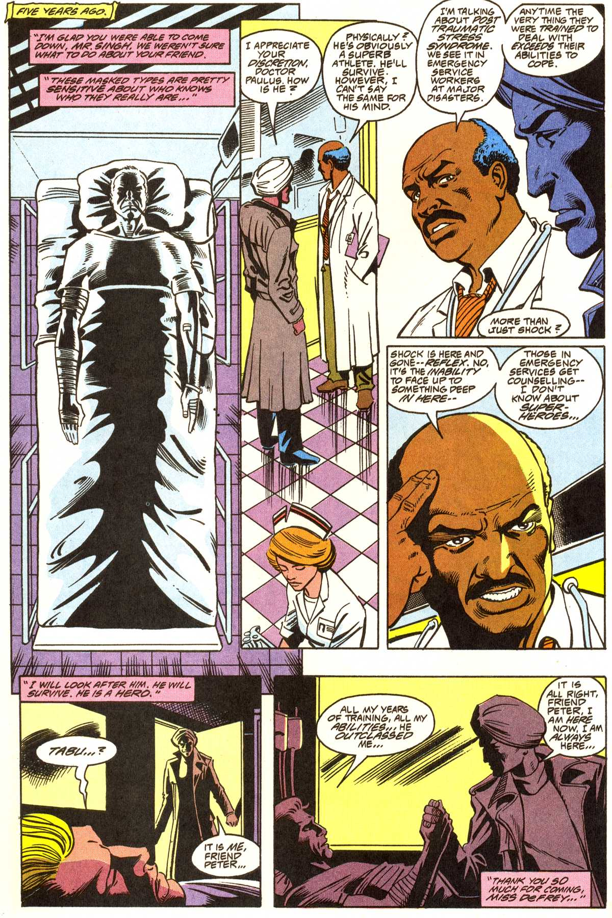 Read online Peter Cannon--Thunderbolt (1992) comic -  Issue #1 - 11