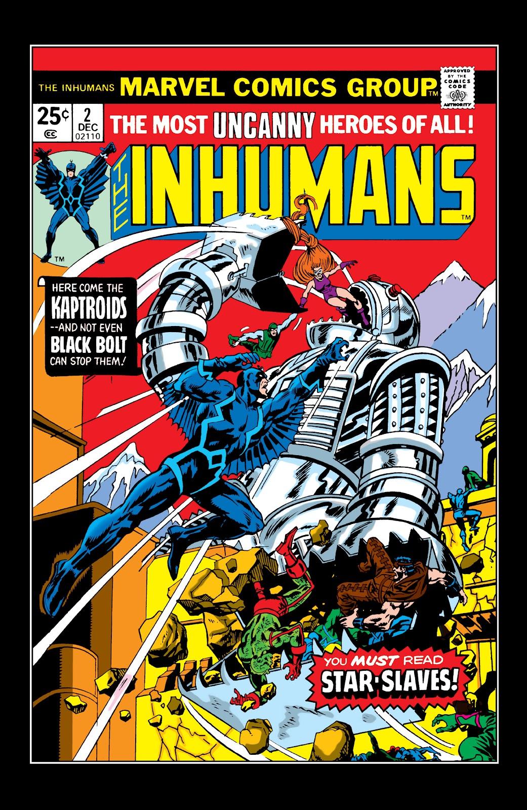 Read online Marvel Masterworks: The Inhumans comic -  Issue # TPB 2 (Part 1) - 26
