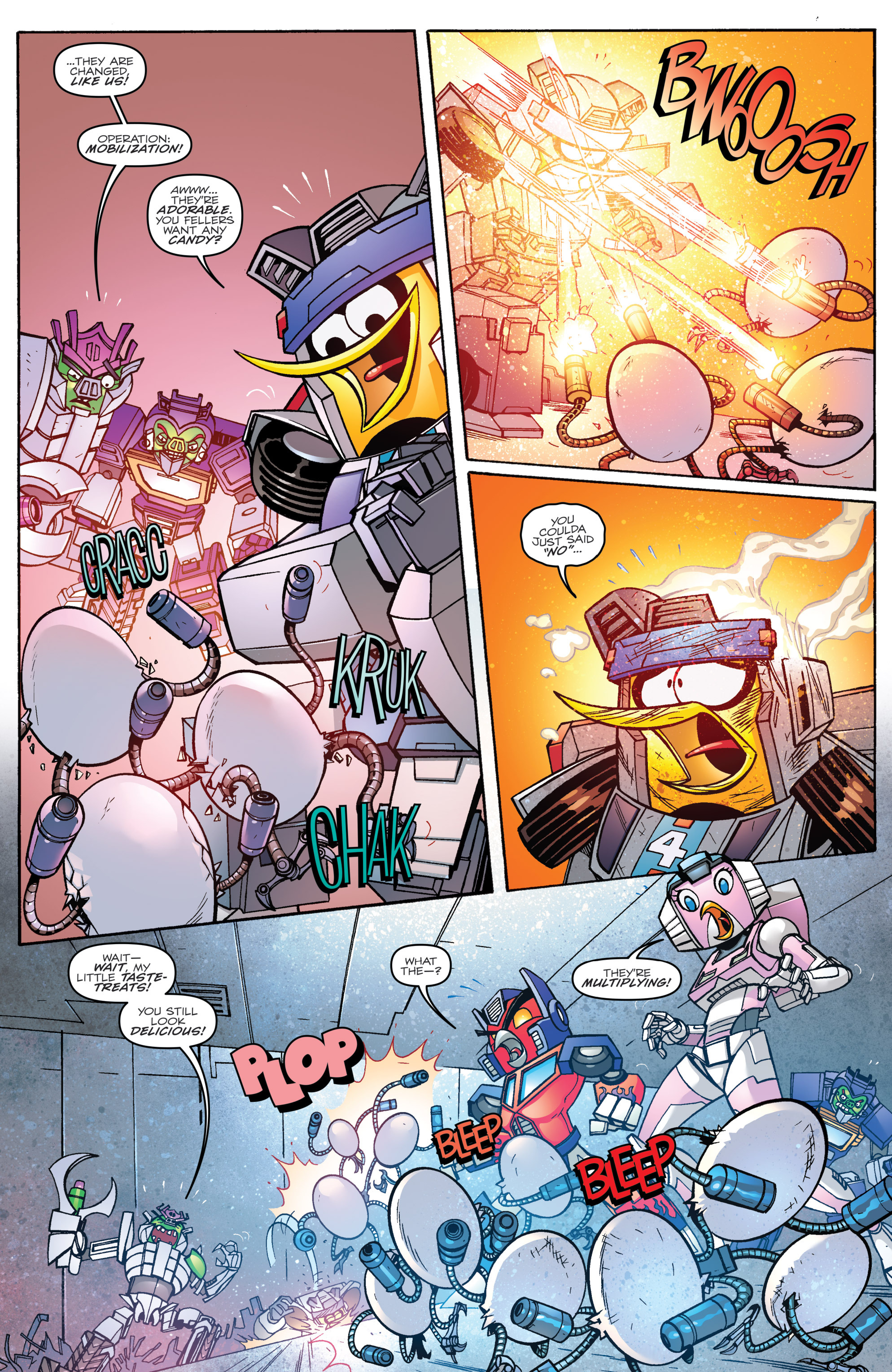 Read online Angry Birds Transformers comic -  Issue #2 - 20