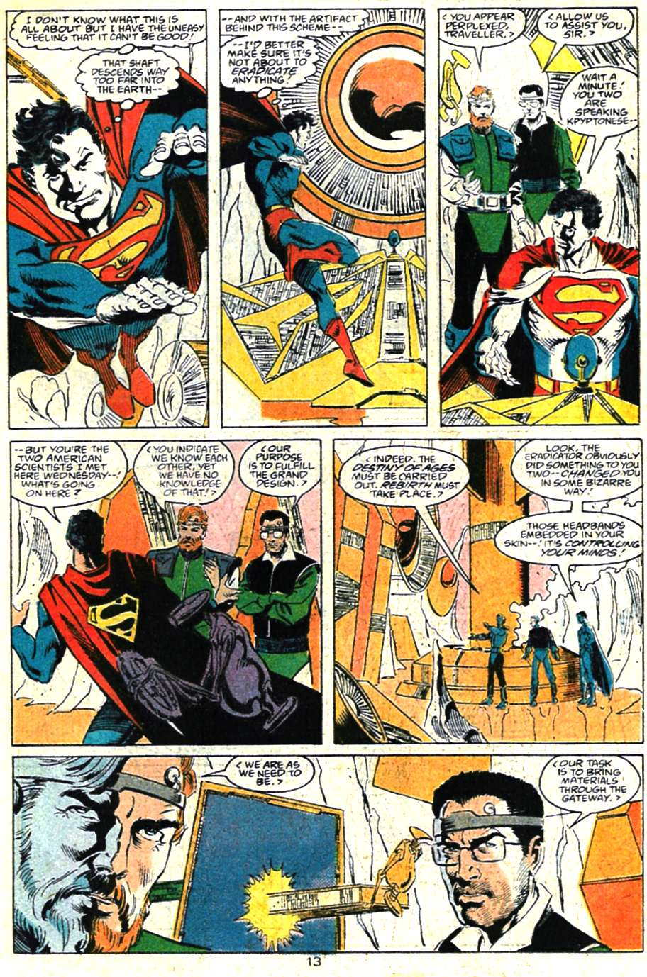Read online Adventures of Superman (1987) comic -  Issue #460 - 14