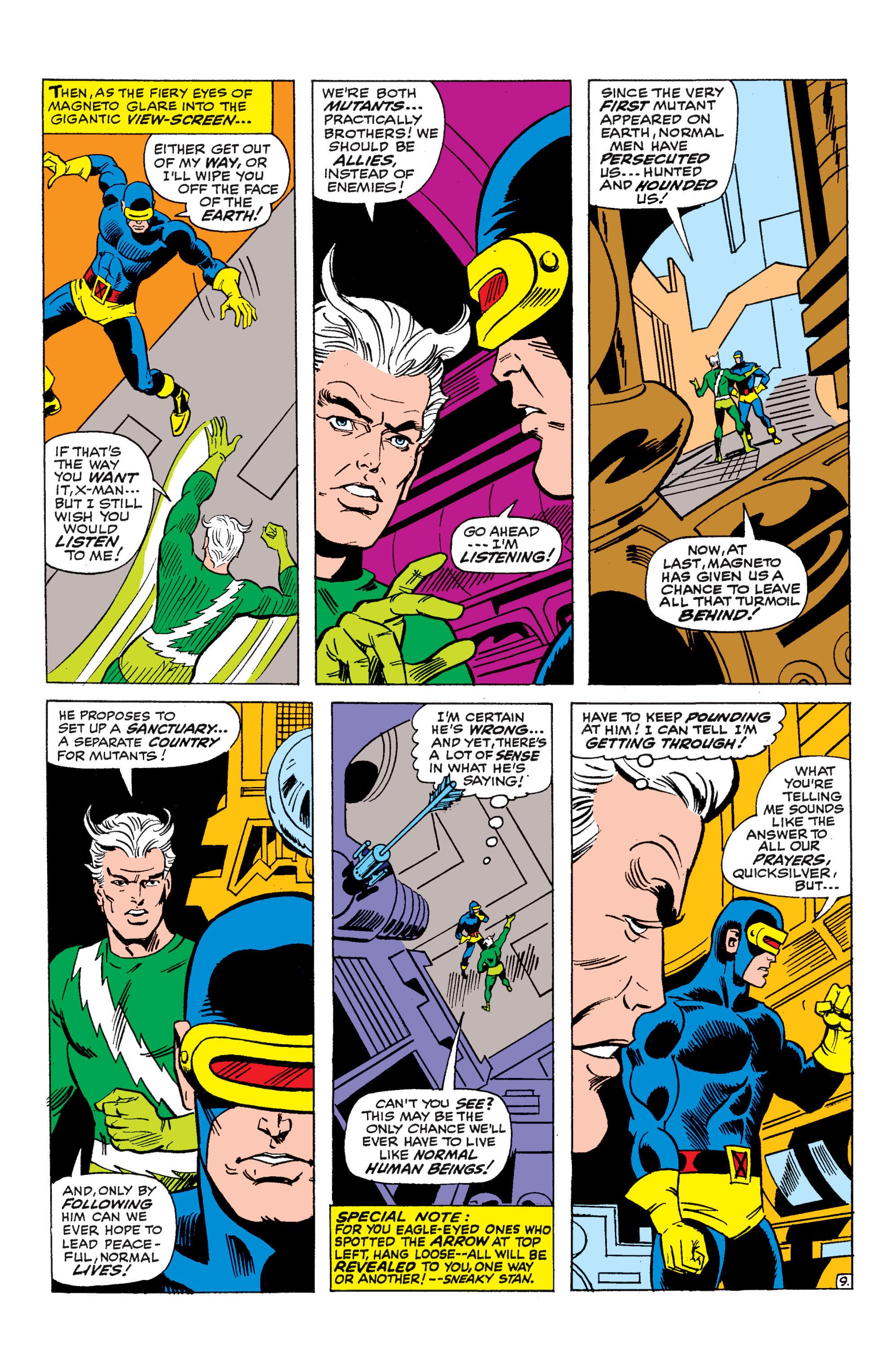 Uncanny X-Men (1963) 45 Page 9