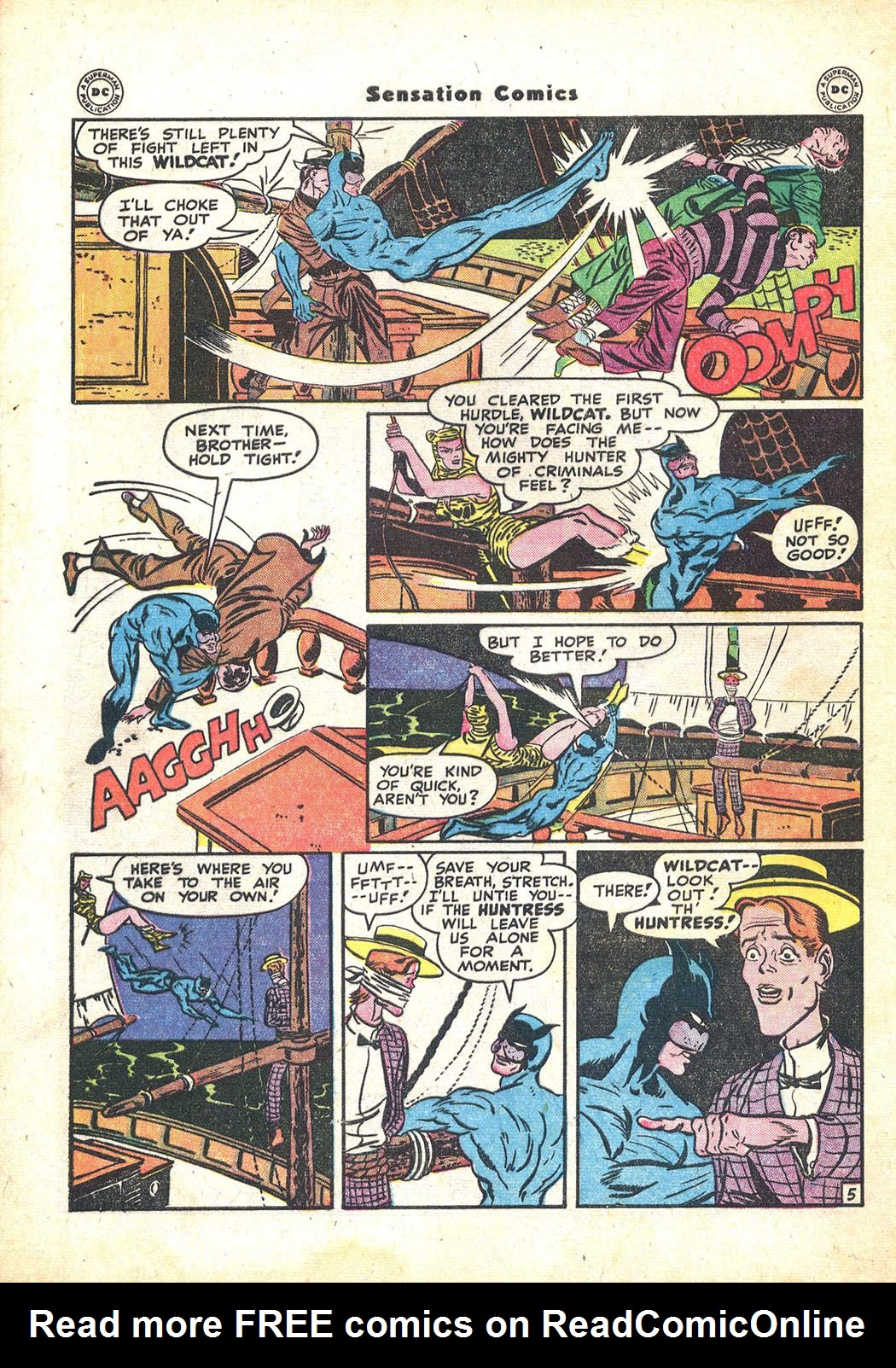 Read online Sensation (Mystery) Comics comic -  Issue #71 - 46