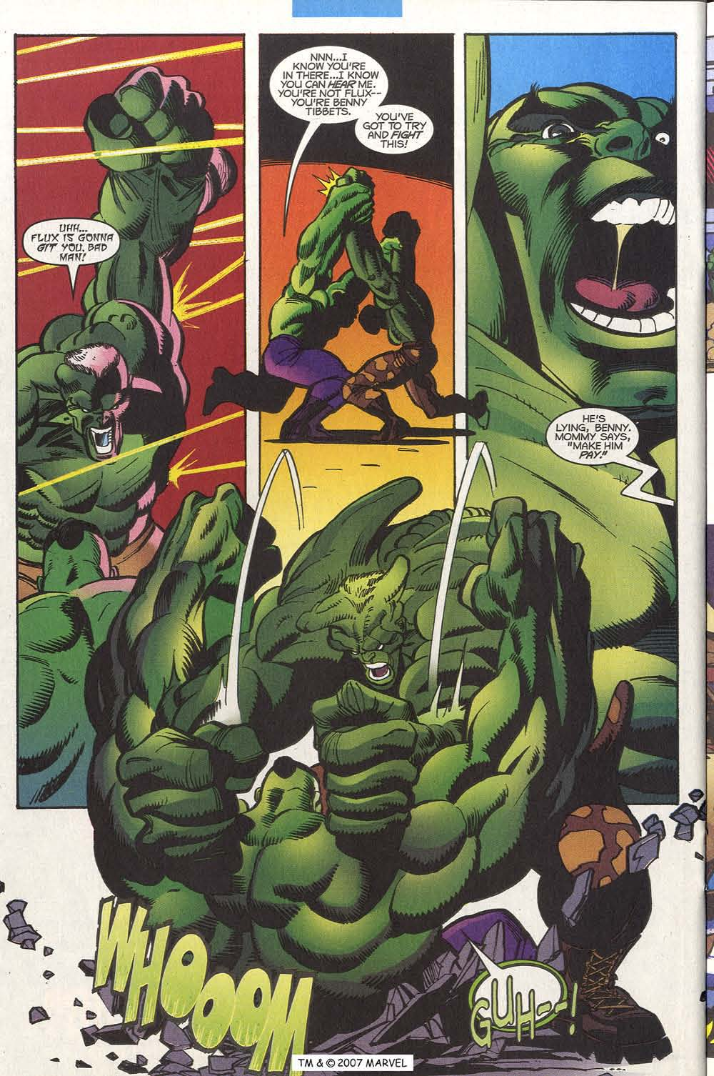 Read online The Incredible Hulk (2000) comic -  Issue #20 - 26
