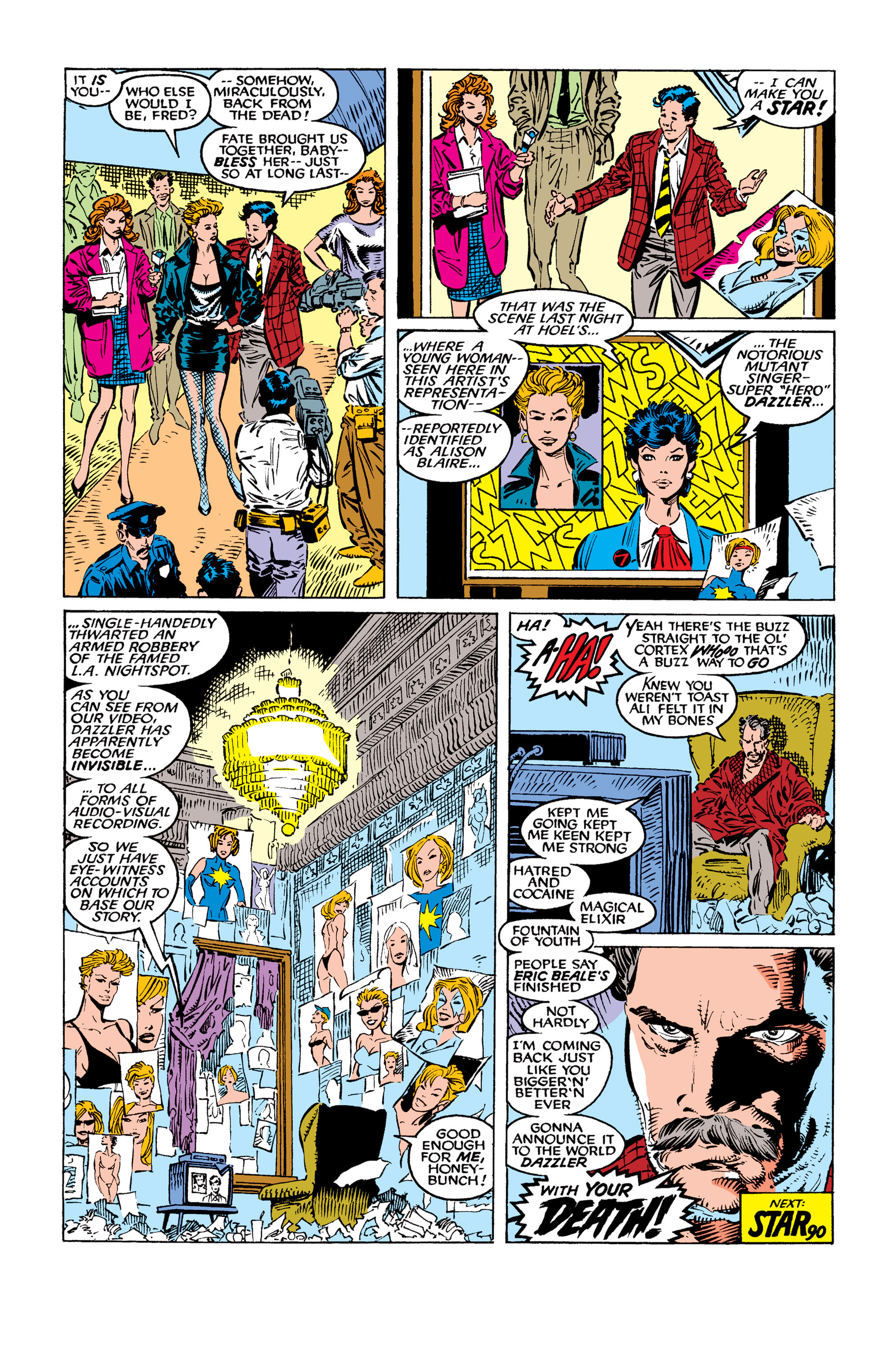 Read online Uncanny X-Men (1963) comic -  Issue #259 - 24