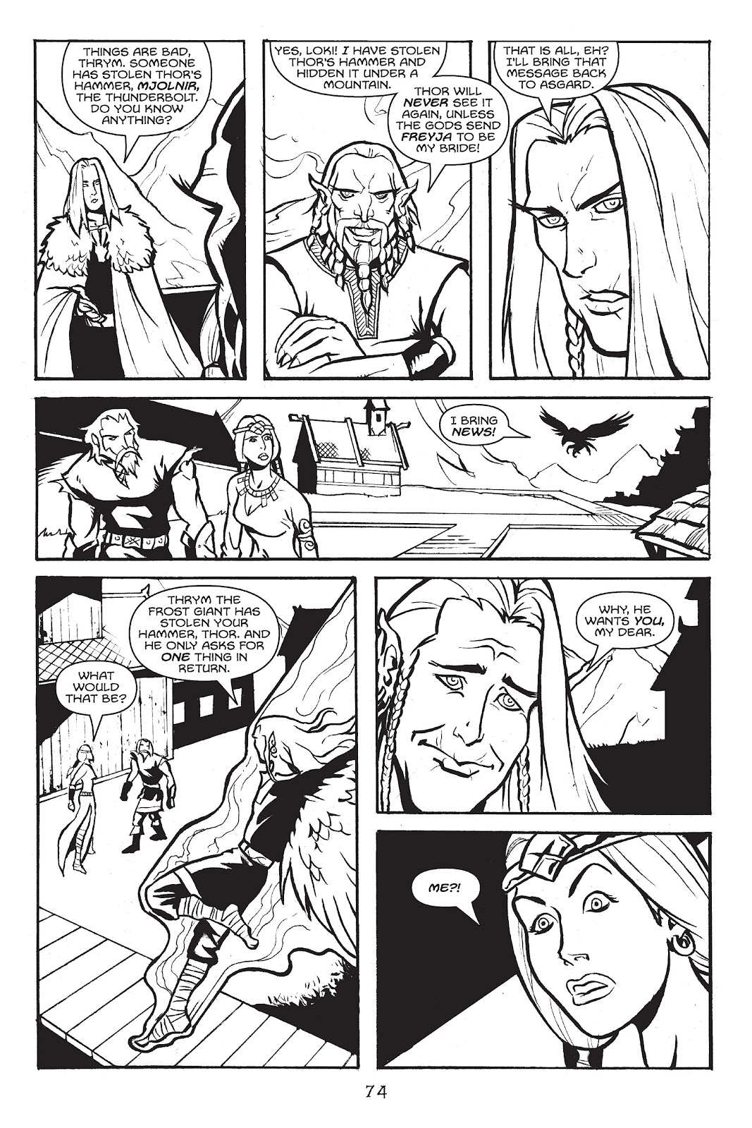 Read online Gods of Asgard comic -  Issue # TPB (Part 1) - 75