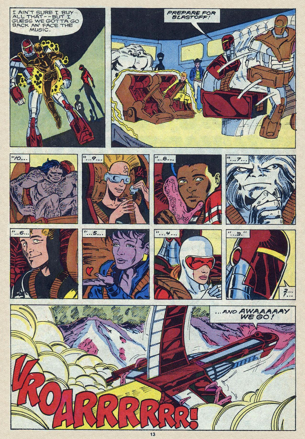 Read online Alpha Flight (1983) comic -  Issue #57 - 19