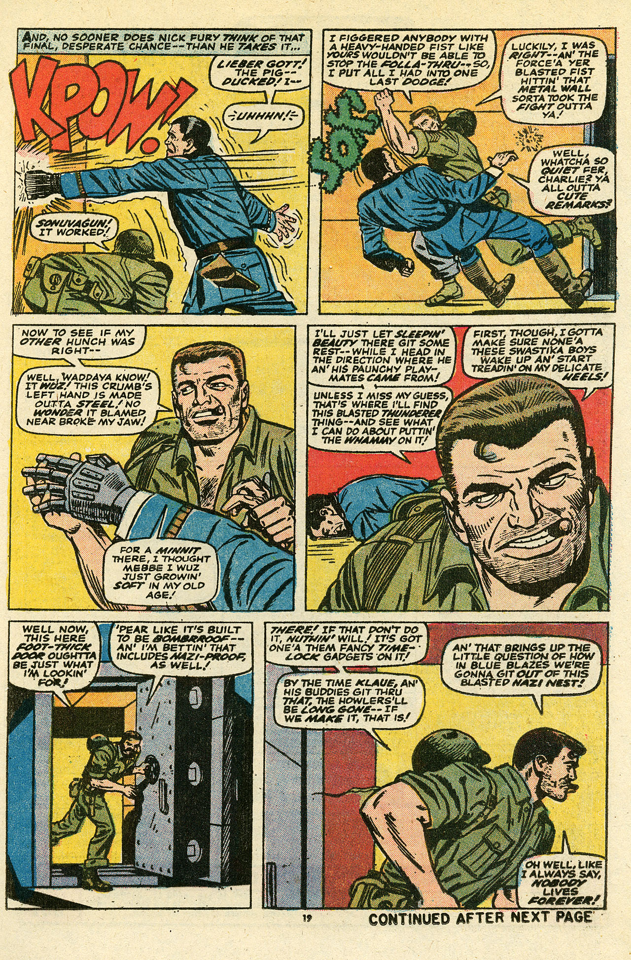 Read online Sgt. Fury comic -  Issue #111 - 21