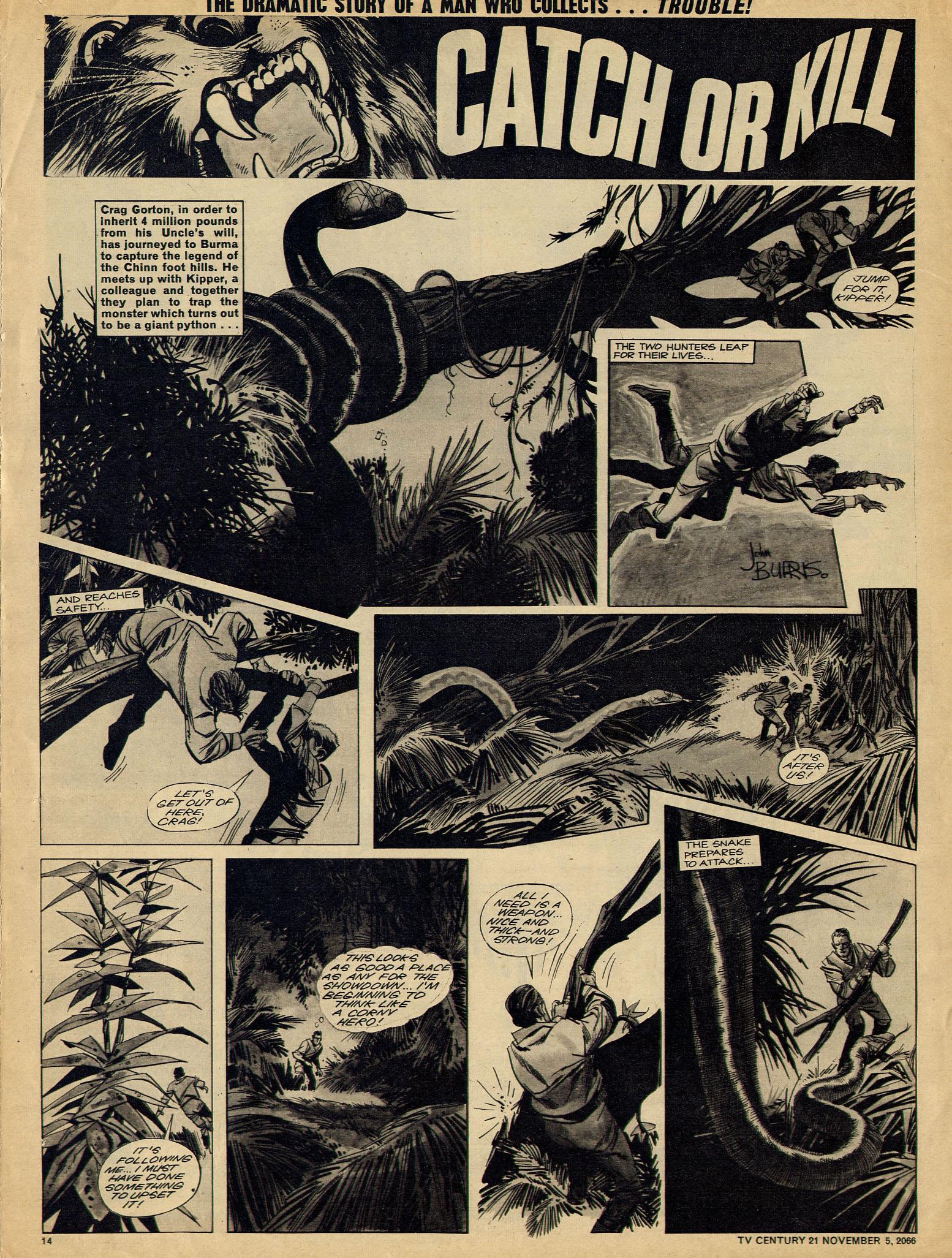 Read online TV Century 21 (TV 21) comic -  Issue #94 - 13