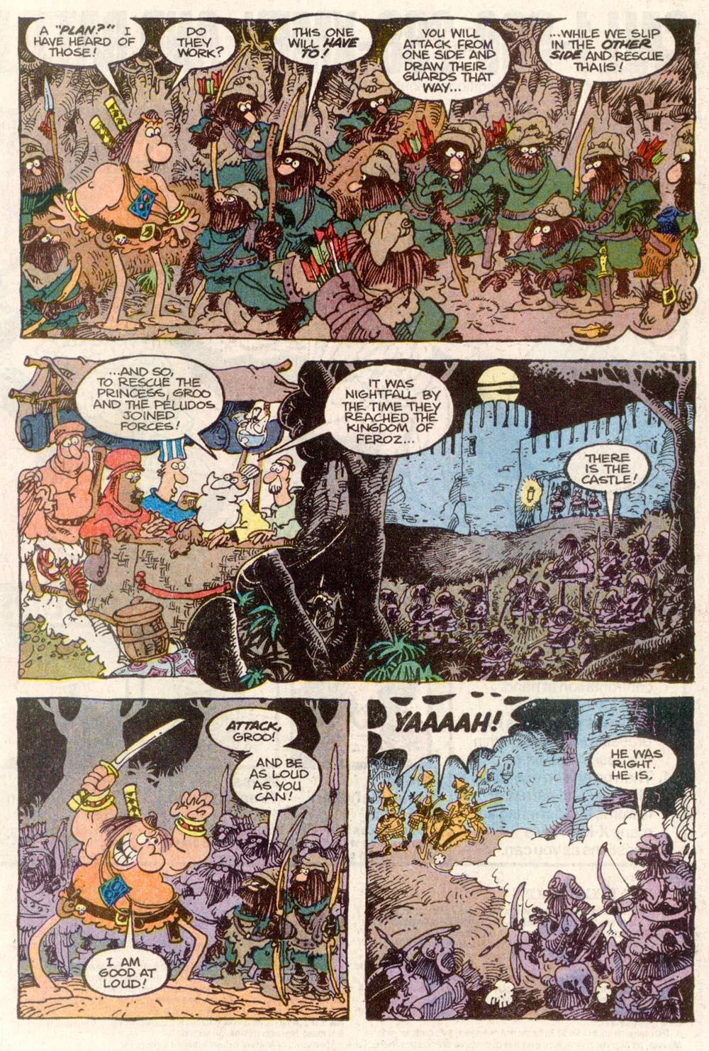 Read online Sergio Aragonés Groo the Wanderer comic -  Issue #82 - 14