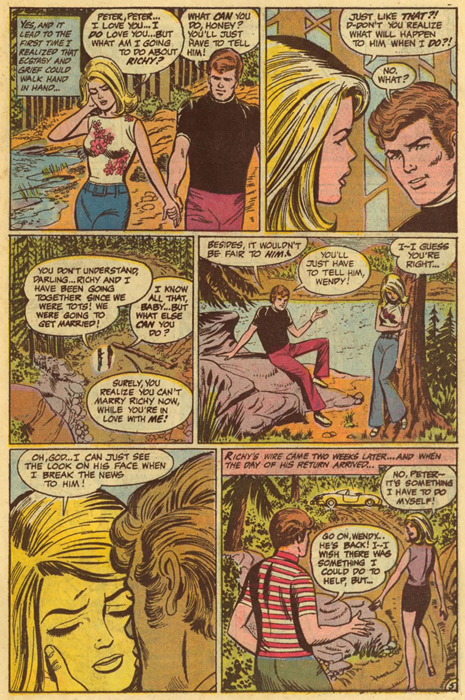 Read online Secret Hearts comic -  Issue #139 - 15