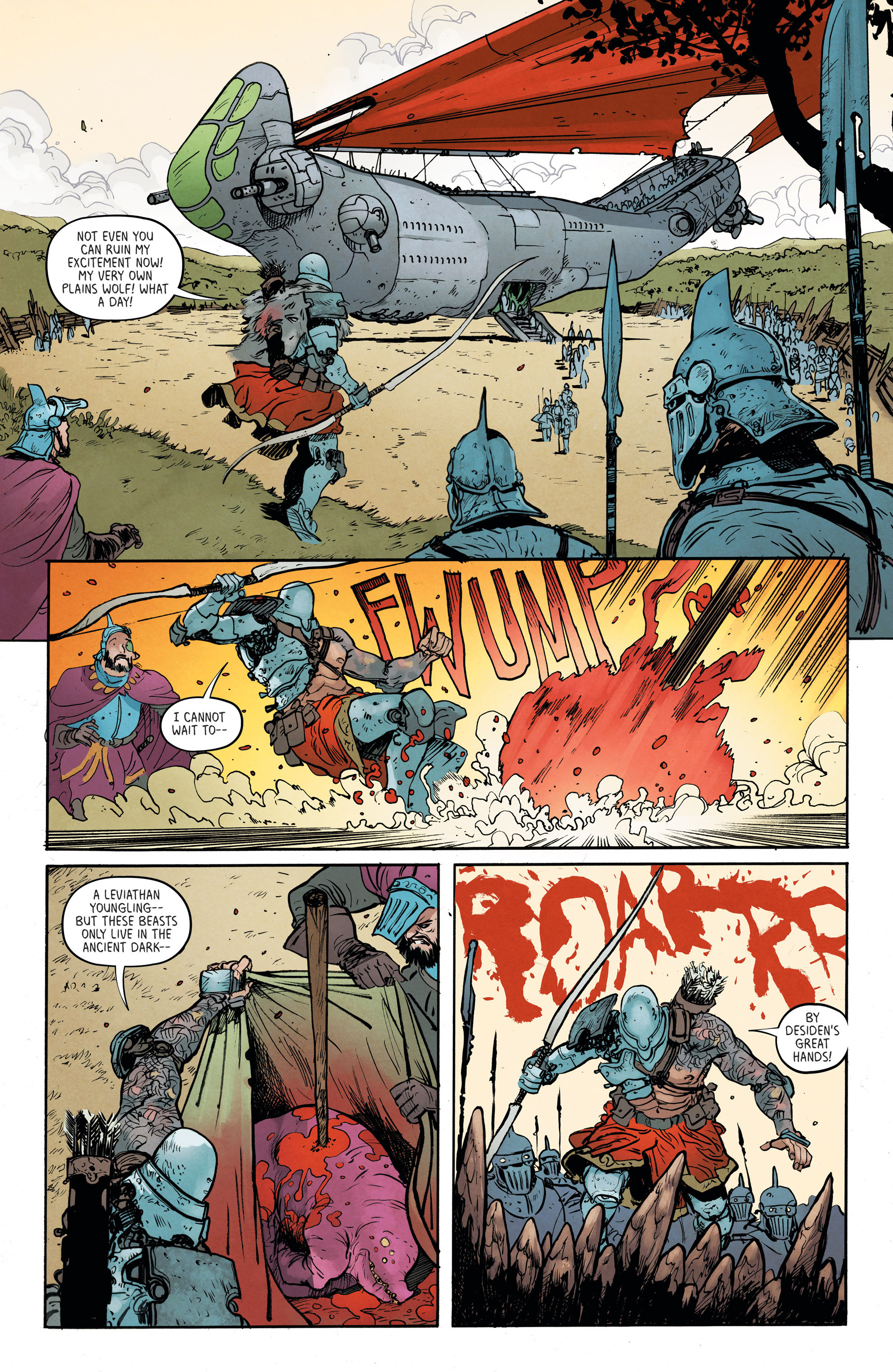 Read online Extremity comic -  Issue #3 - 11