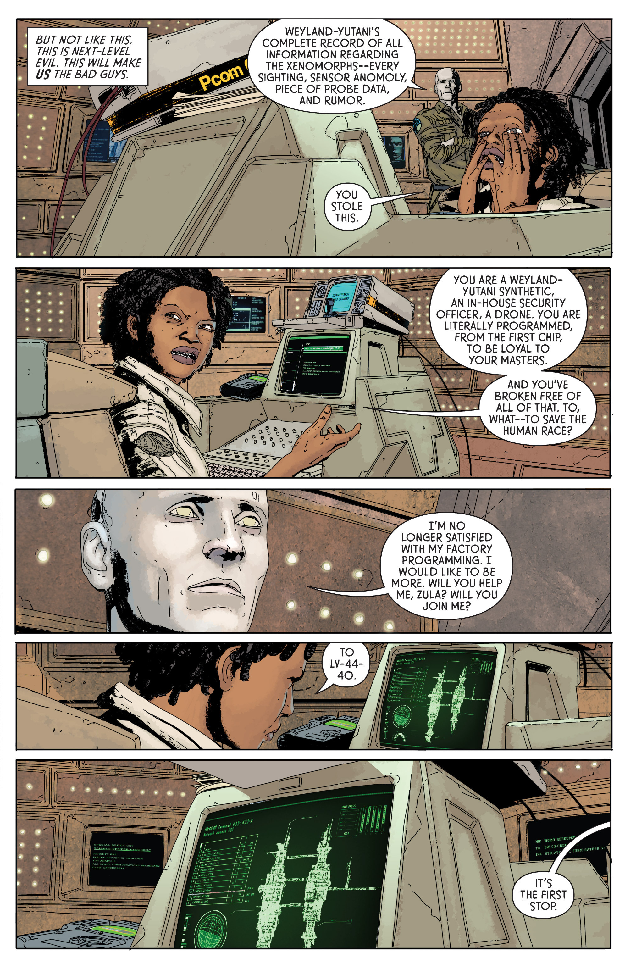 Read online Aliens: Defiance comic -  Issue #1 - 29