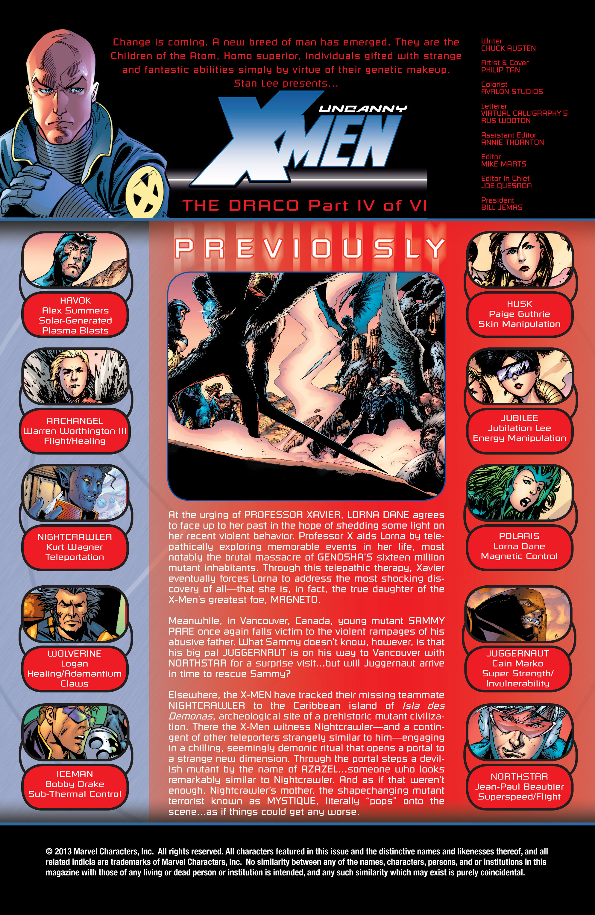 Read online Uncanny X-Men (1963) comic -  Issue #432 - 2