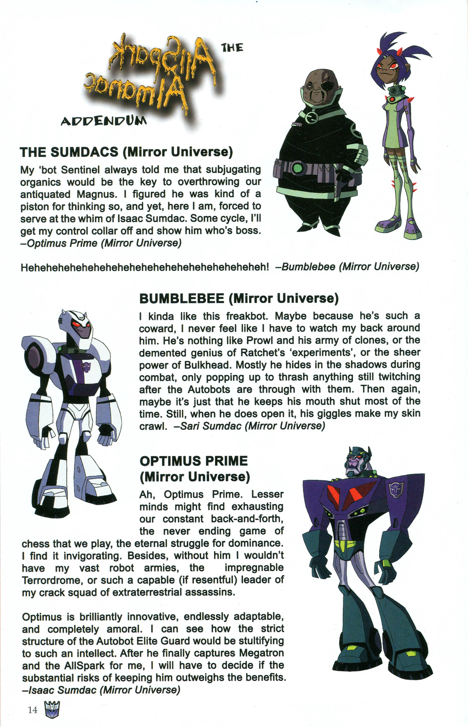 Read online Transformers: Collectors' Club comic -  Issue #44 - 14