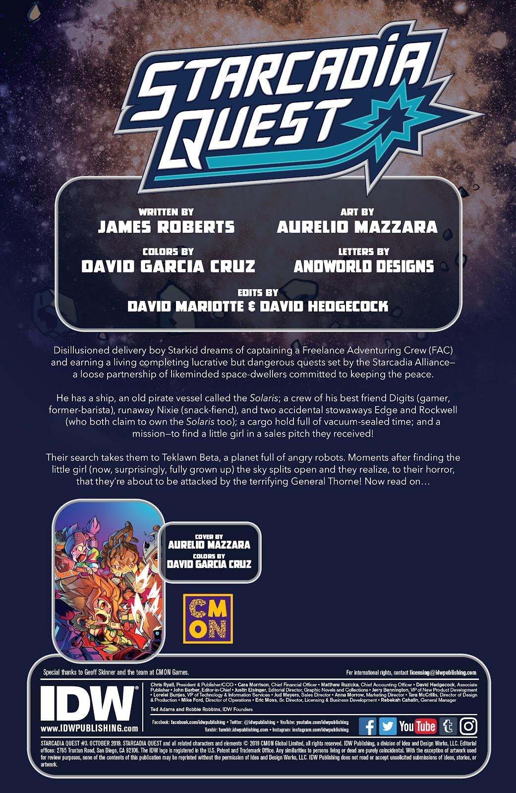 Read online Starcadia Quest comic -  Issue #3 - 2
