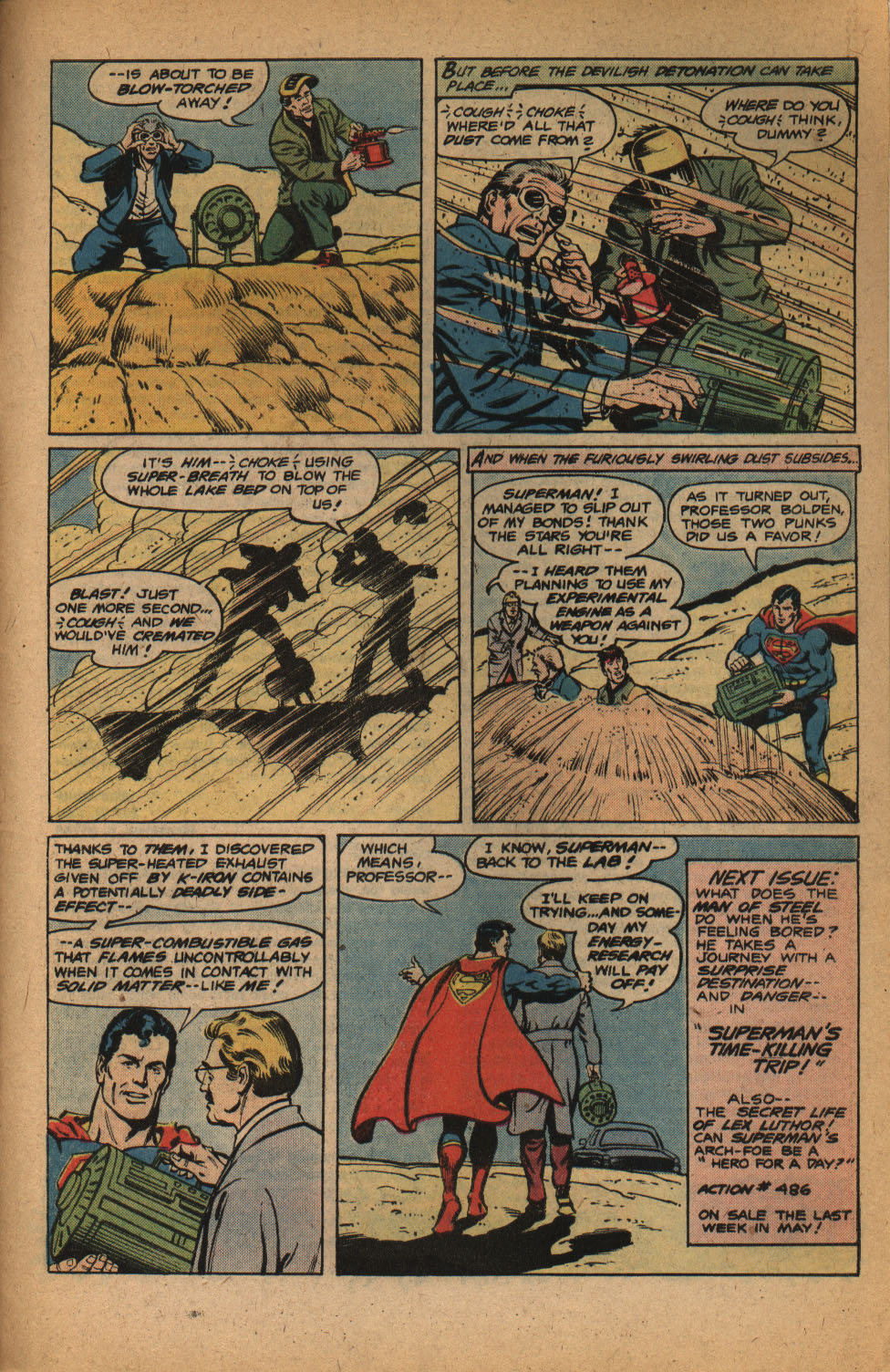 Read online Action Comics (1938) comic -  Issue #485 - 31