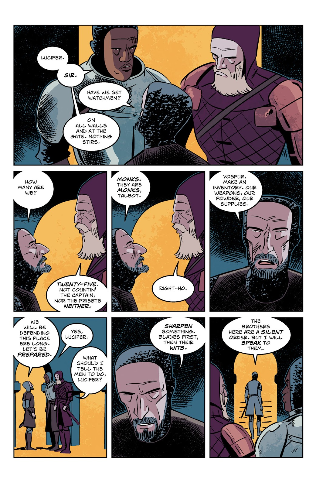 Read online Dark Ages comic -  Issue #2 - 4