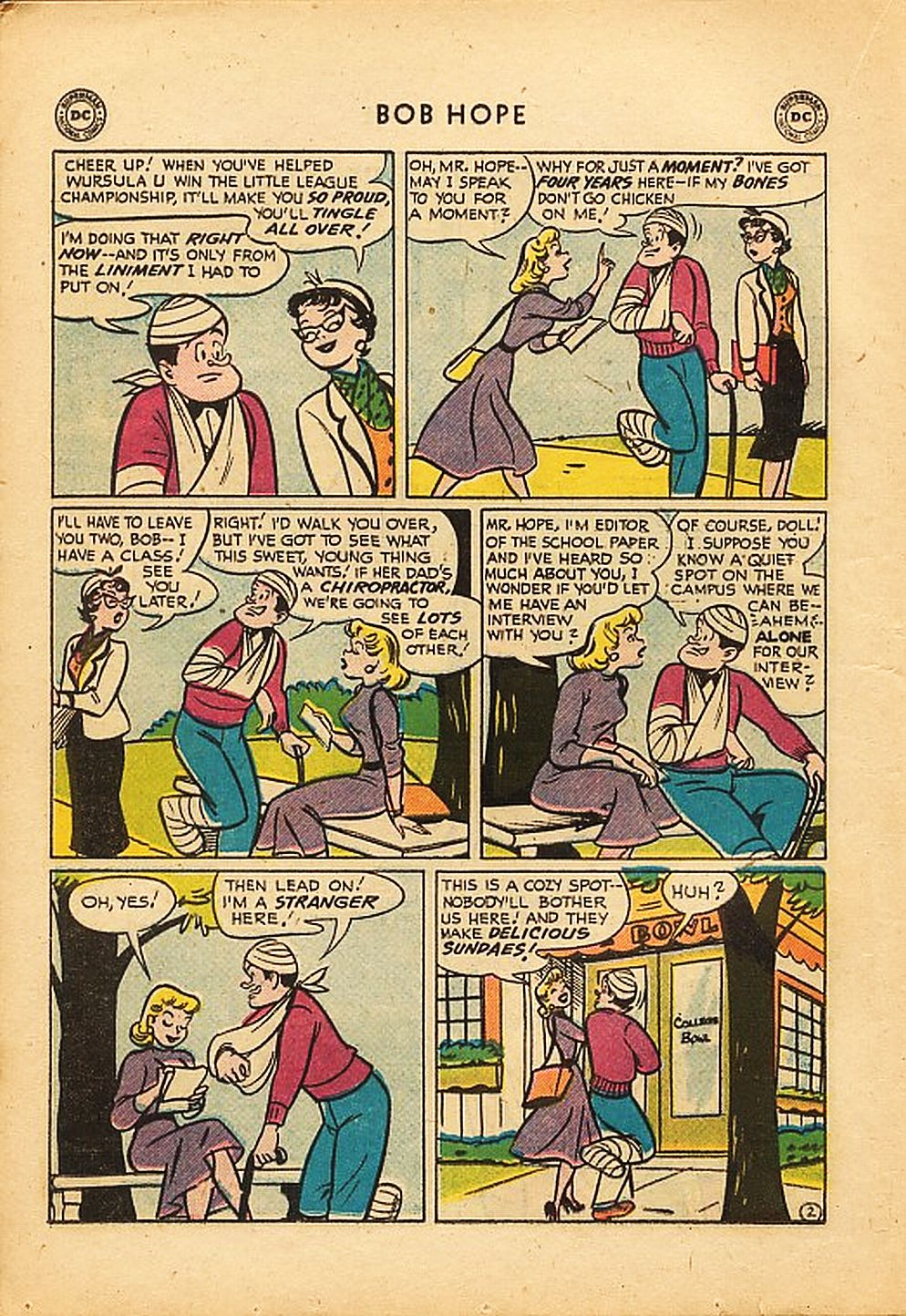 The Adventures of Bob Hope issue 42 - Page 14