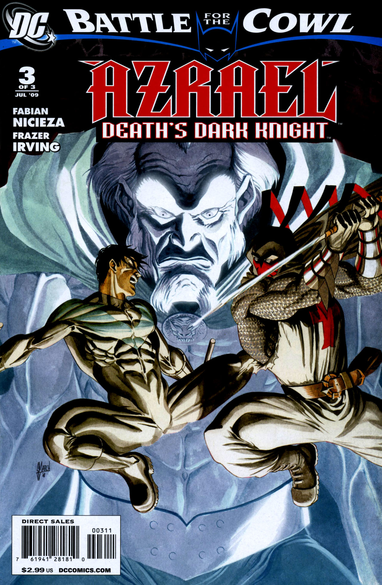 Read online Azrael: Death's Dark Knight comic -  Issue #3 - 1