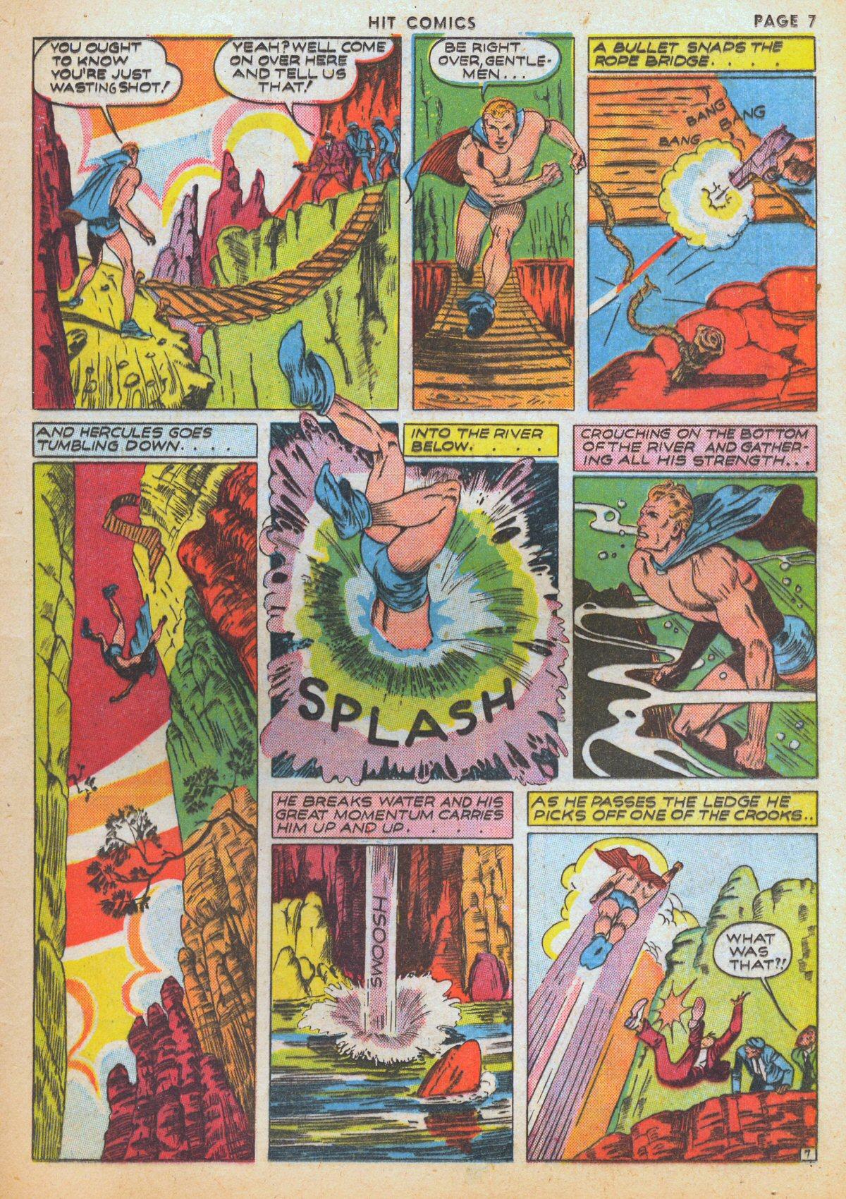 Read online Hit Comics comic -  Issue #12 - 9