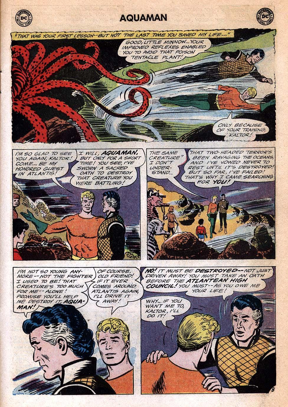 Read online Aquaman (1962) comic -  Issue #20 - 11