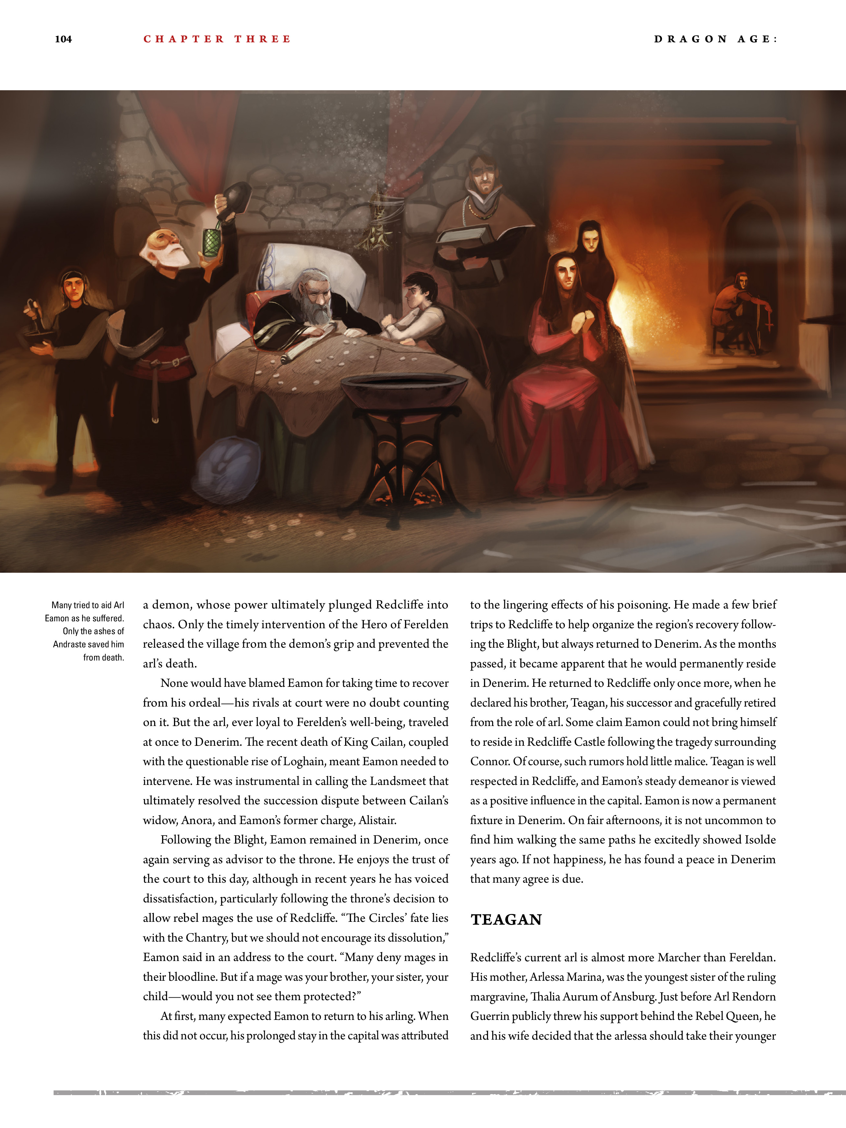 Read online Dragon Age: The World of Thedas comic -  Issue # TPB 2 - 100