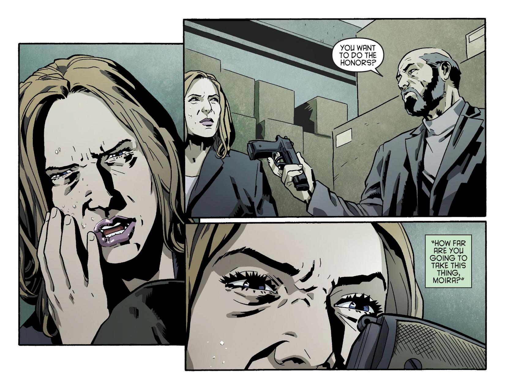 Read online Arrow [II] comic -  Issue #5 - 15