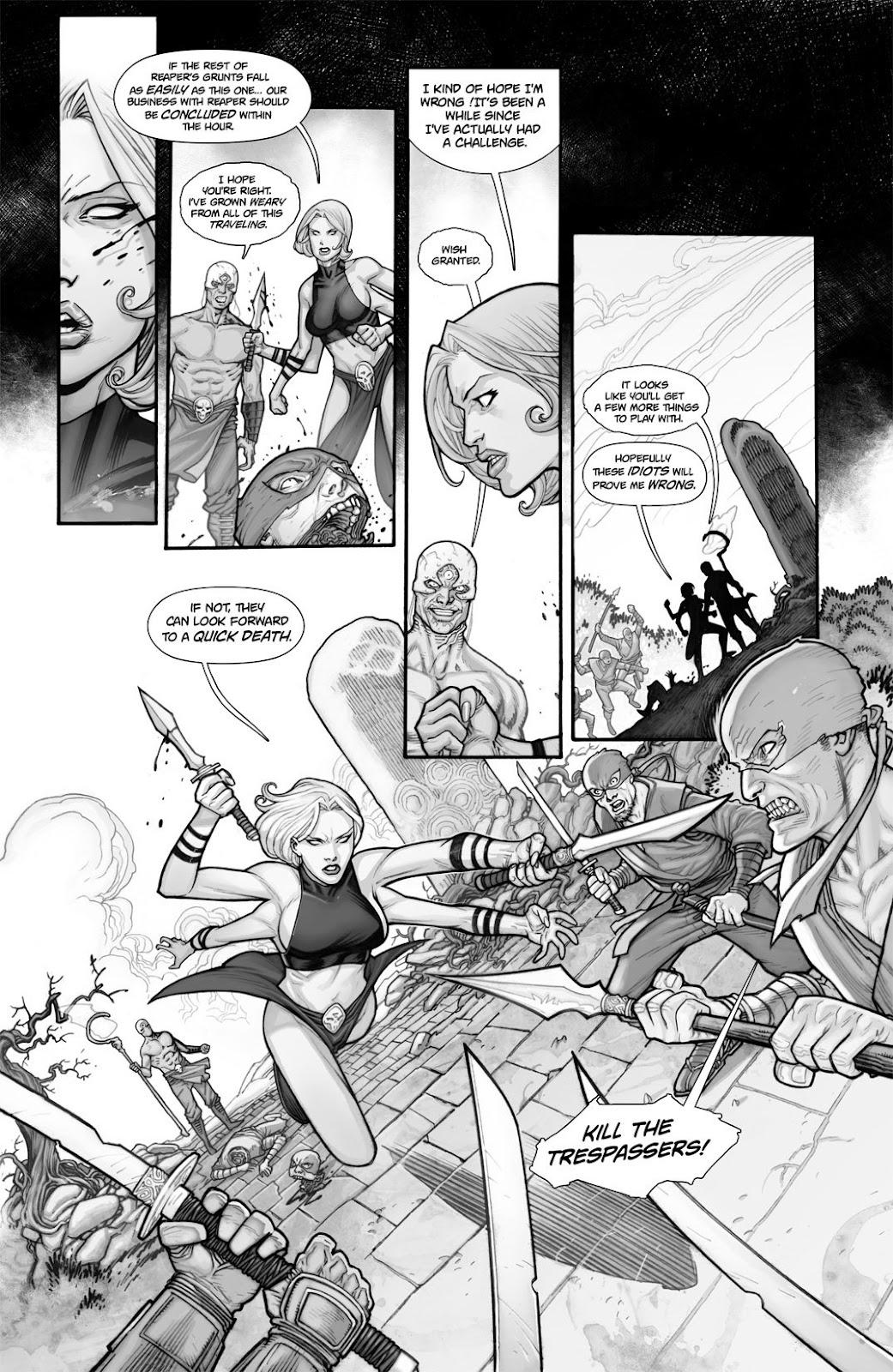 Read online Reaper comic -  Issue #2 - 8